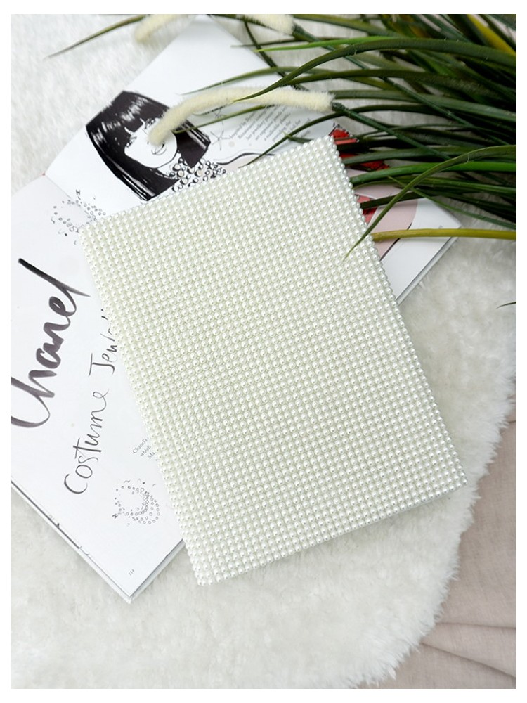 PEARLY WHITE NOTEBOOK