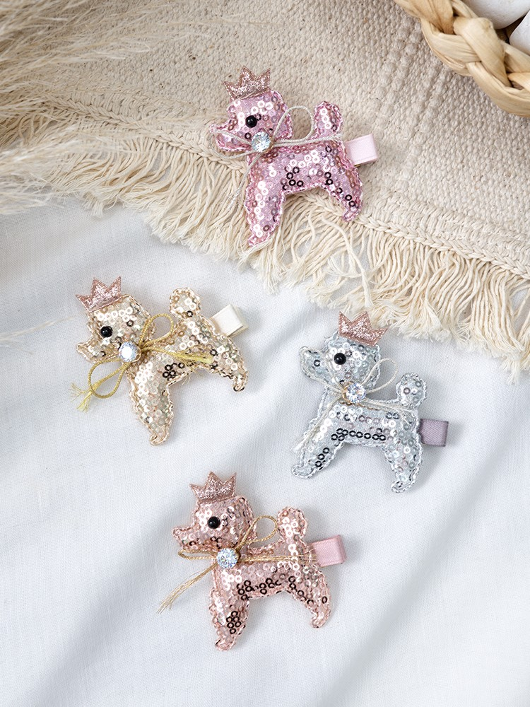 PUPPY HAIRCLIPS SET OF 2