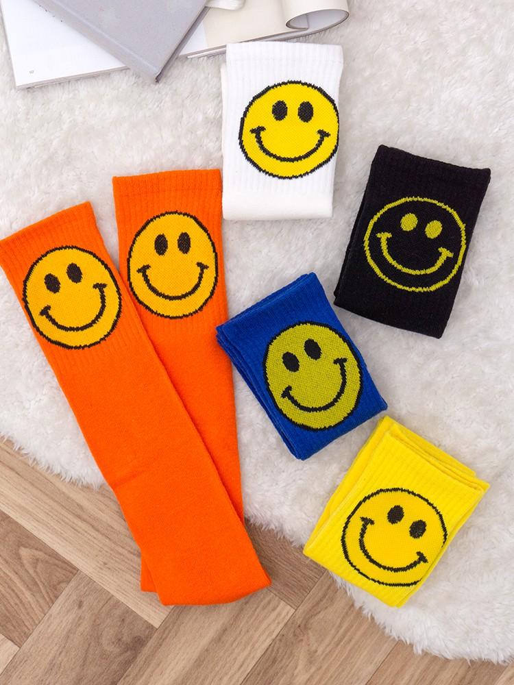 SMILE FACE SOCKS PACK OF 5