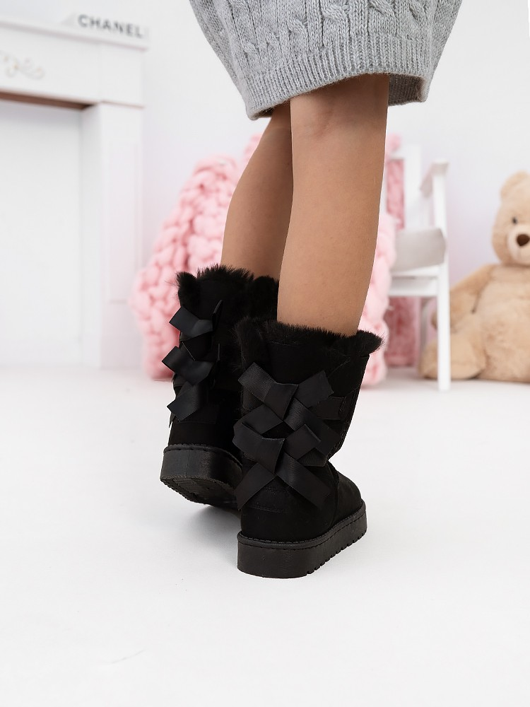CATALINA BLACK BOOTIES