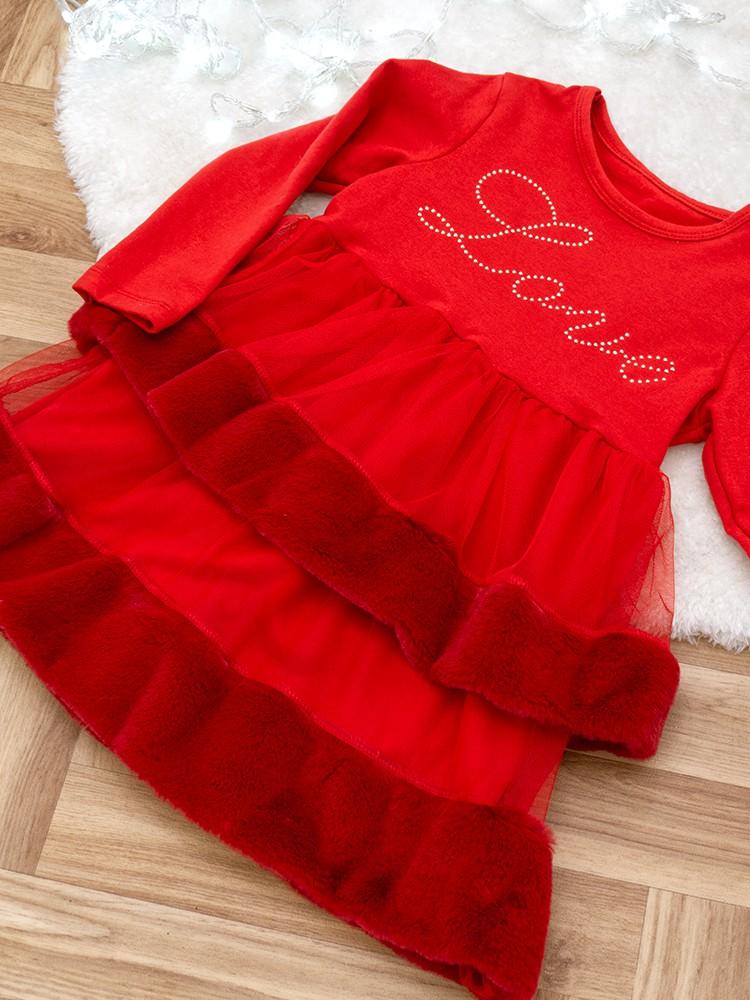 LESTAT RED DRESS