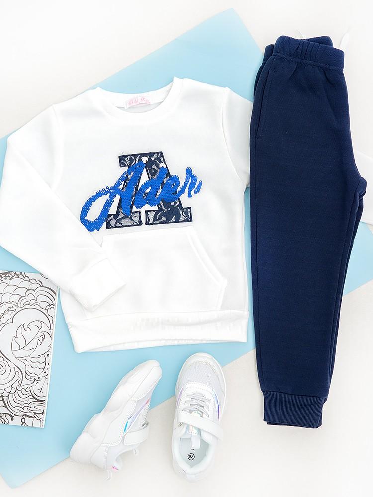 ADEL WHITE & BLUE SET