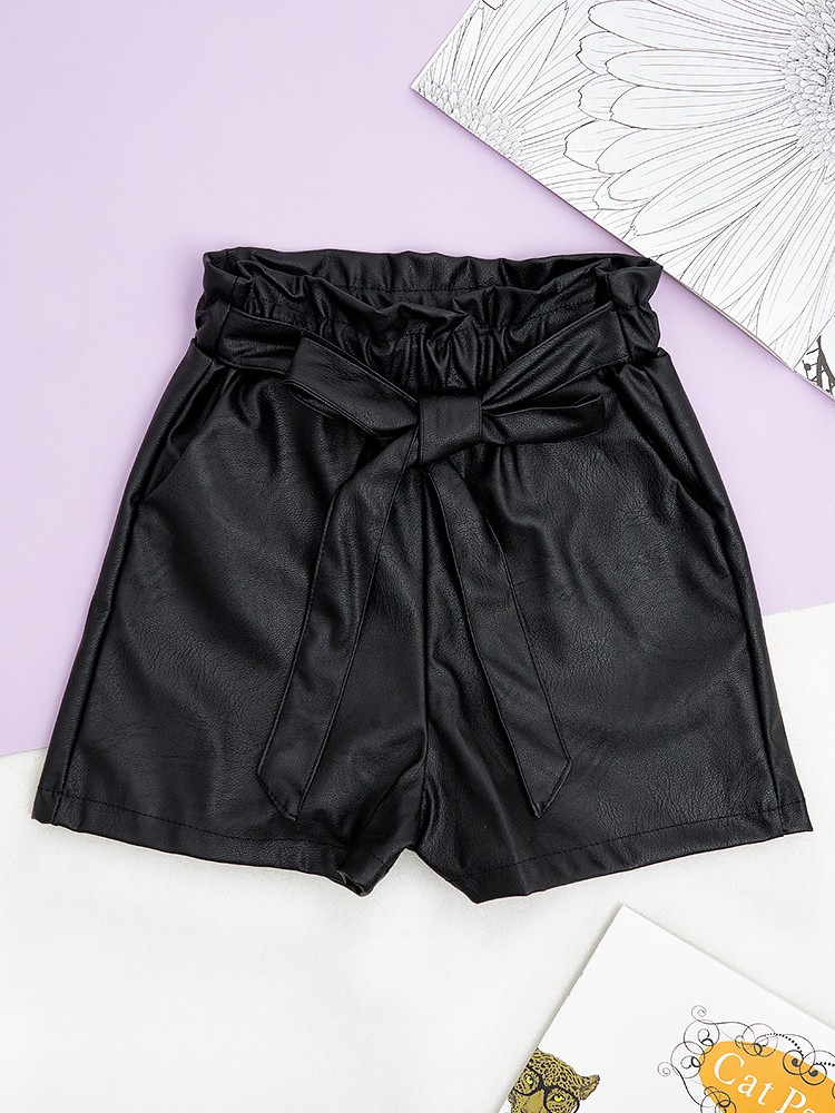 PASLEY GIRLY BLACK LEATHER...