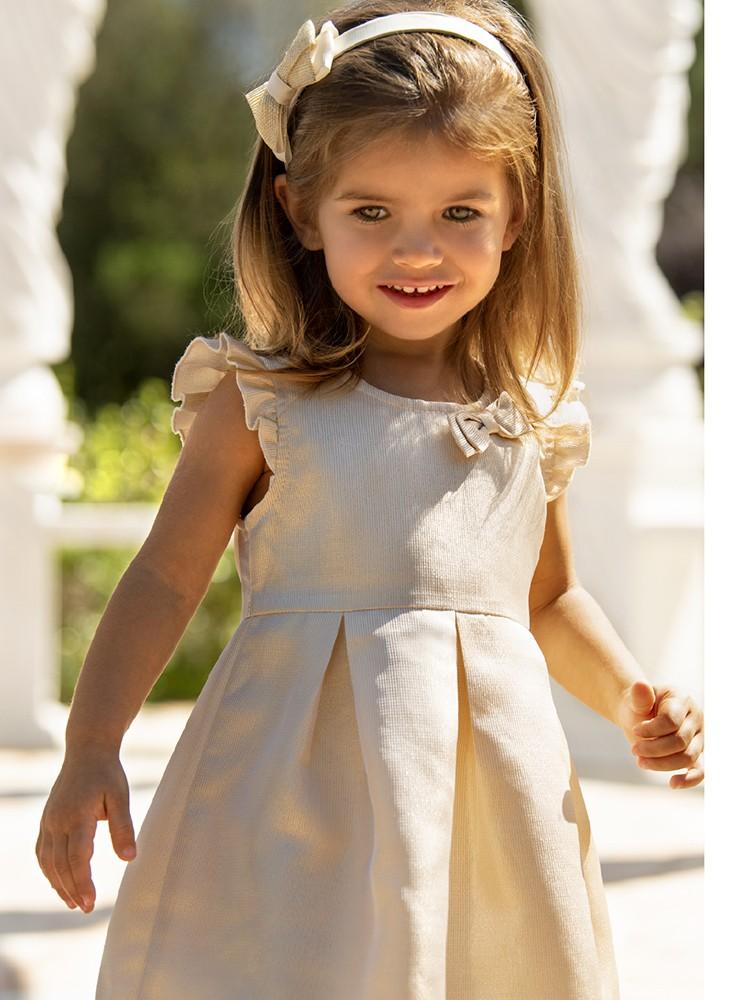 ELEONORA GOLD BEBE DRESS