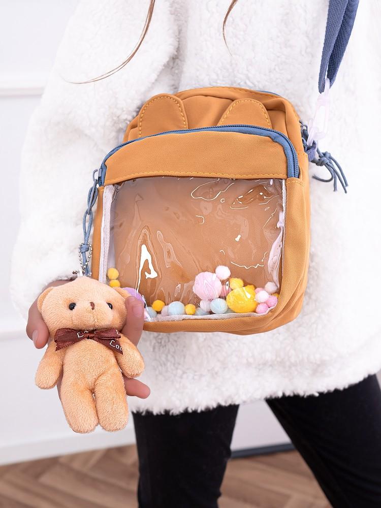 TEDDY ORAGNGE BAG
